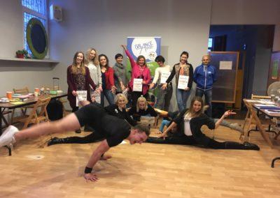 Szkolenie z aerobiku sportowego – grudzień 2017